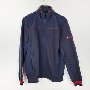Tommy Hilfiger Men's Blue Sweater Jacket